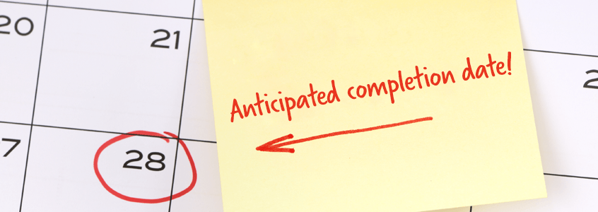 Best Practices to Help You Accurately Report Anticipated Completion Dates